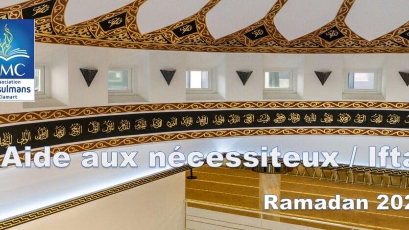 Bilan sur l'opération d'aide aux nécessiteux Ramadan 2020 (cagnotte cotizUp)